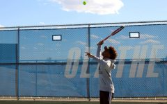Improvement is Key for Olathe West Boys Tennis