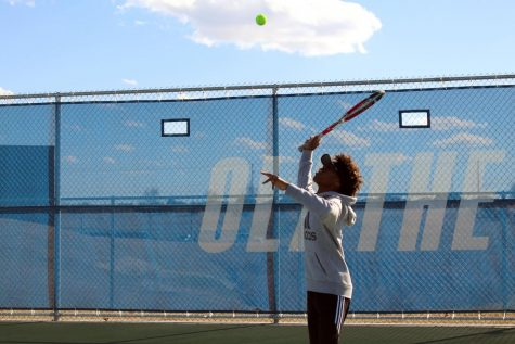 Improvement is Key for Olathe West Boys Tennis