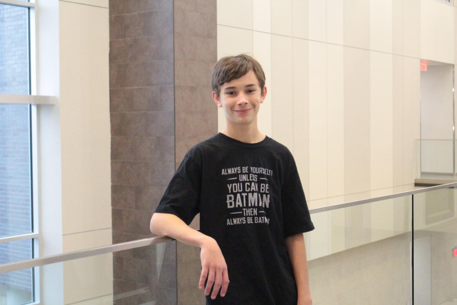 Freshman Kellen Broecklman overcomes being a victim of bullying throughout Middle School.
