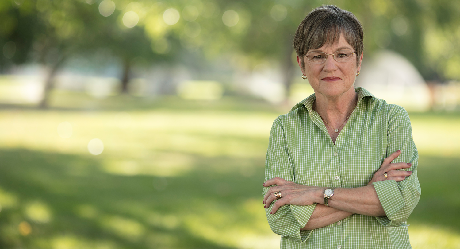 Laura Kelly was elected for governor in November 2018.