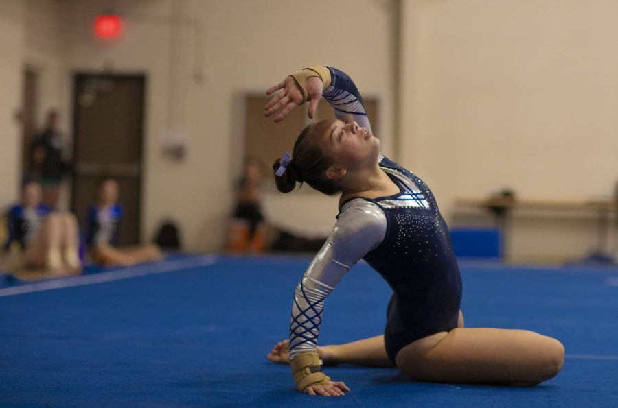 Photo Slideshow: Varsity Gymnastics Invitational vs. Olathe East