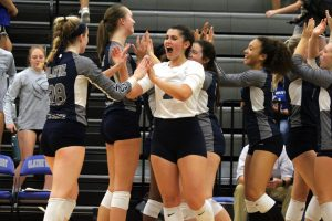 Volleyball Seniors Share Reflections