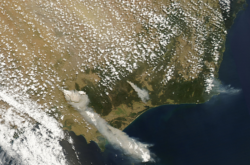 Wildfires take over Australia
