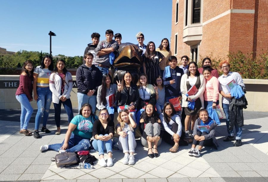 Hispanic+Leadership+Club+Attends+the+Latinx+Leadership+Symposium+at+KU+with+Students+from+ONW.+