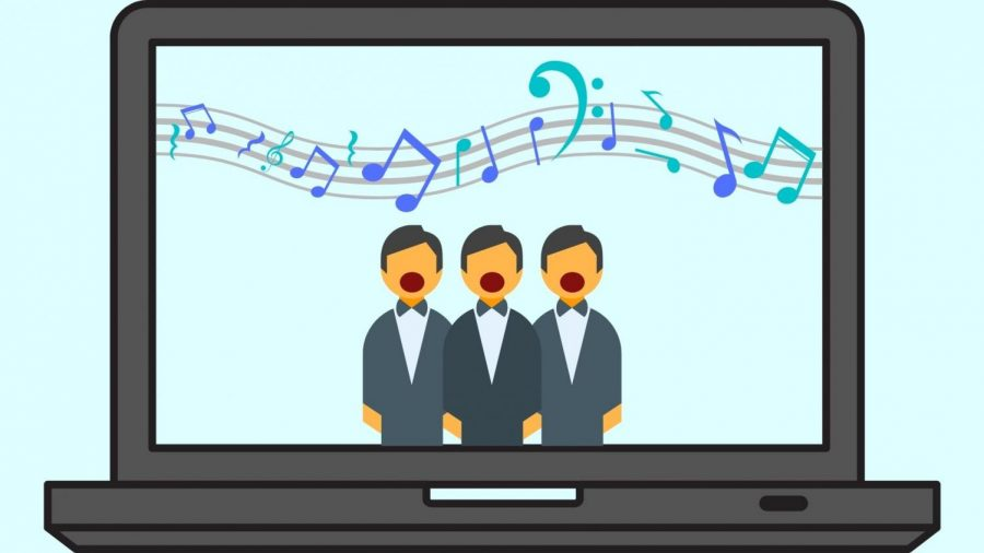 The OW choir will continue to perform even if it needs to be over technology, and with many other restrictions.