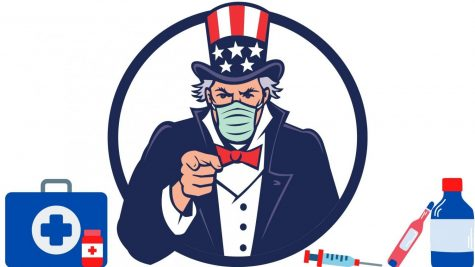 Uncle Sam said he needs YOU to wear a mask.