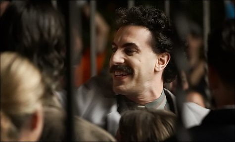 """Borat Subsequent Moviefilm"" was released on Oct. 23 to Amazon Prime."