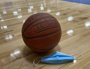 Boys and Girls Basketball season started yesterday with tryouts, every athlete wearing a mask.