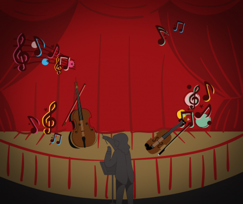 The virtual orchestra concert this year is taking place on Dec. 8.