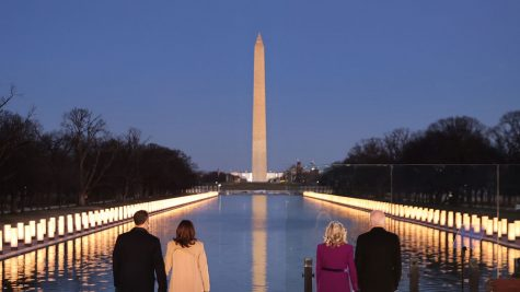 A memorial was held at D.C. for those lost to COVID-19.