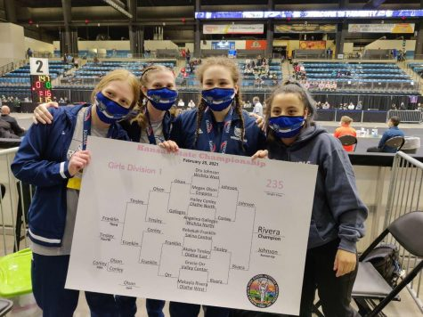 Girls Wrestling Dominates At State Tournament