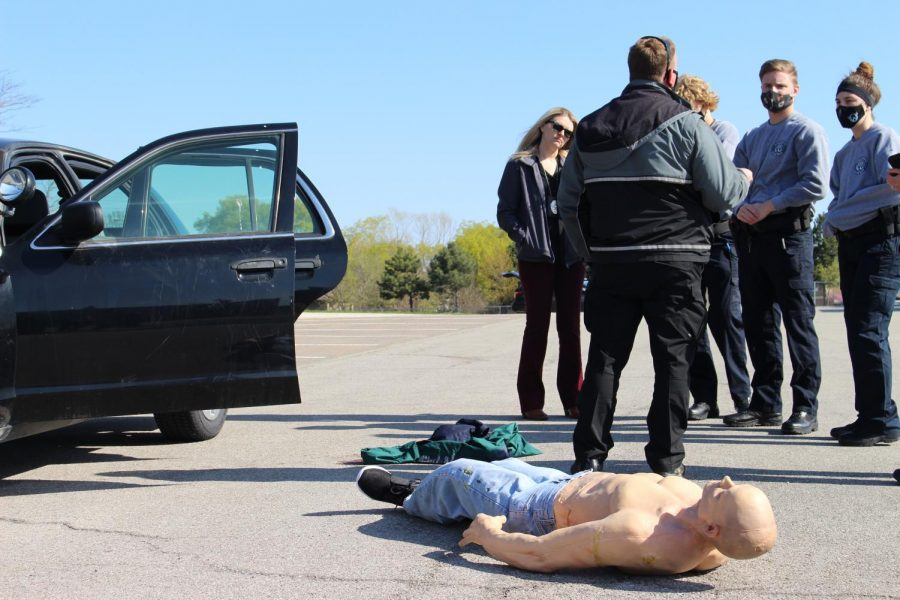 Major Case Event Tests Skills of Senior Public Safety Students