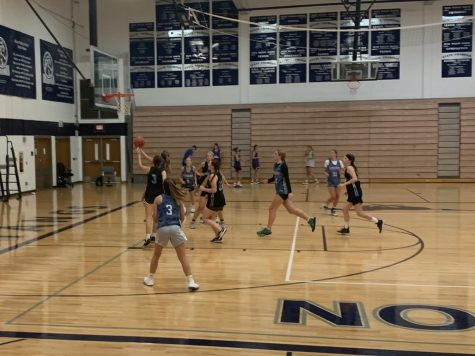 Olathe West girls basketball beats Shawnee Mission East 72-16 in their second fall league matchup.