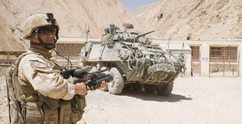 American soldier in Afghanistan. (CPL Sam Shepherd)